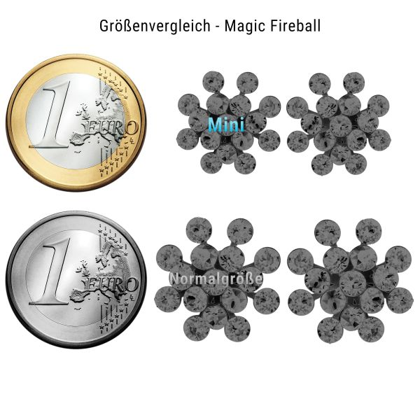 Konplott Magic Fireball Halskette mini in gelb #5450543755038