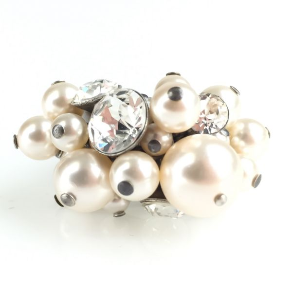 Konplott Pearl Shadow crystal Ring #5450527444583