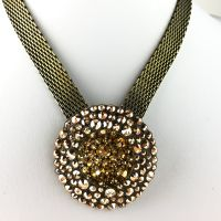 Konplott Inside Out beige Halskette mit Anhänger #5450543607771