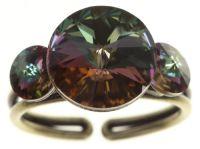 Konplott Rivoli Ring in grün colorado topaz vitrail