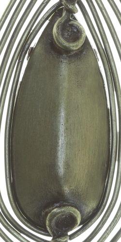 Konplott Amazonia Ohrhänger in beige, Größe M #5450543753577