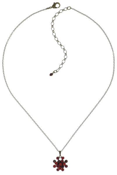 Konplott Magic Fireball Halskette mit Anhänger hellrot/dunkelrot mini #5450543683195