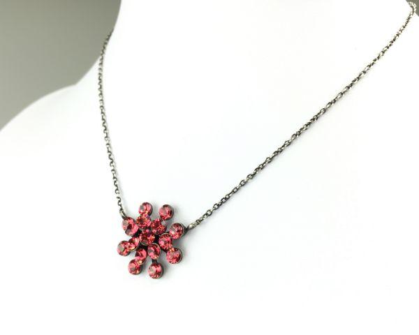 Konplott Magic Fireball Halskette mit Anhänger in indian pink, rot/pink #5450527767262