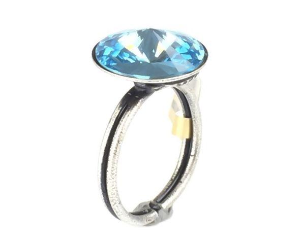 Rivoli aquamarine Ring