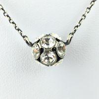 Disco Balls crystal Halskette mit Anhänger M