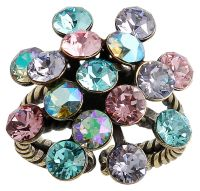 Konplott Magic Fireball Ring in pastel multi