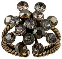 Magic Fireball Ring in grau