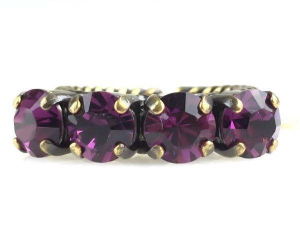 Konplott Colour Snake Ring in Amethyst, pink/lila #5450527217842