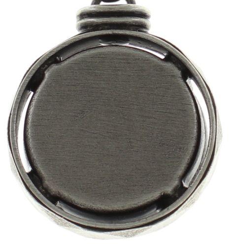 Konplott Medieval Pop Halskette lang mit Anhänger L Stein dunkelrosa #5450543639451