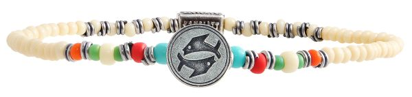 Konplott Zodiac multi Armband elastisch (Fische) #5450543647630