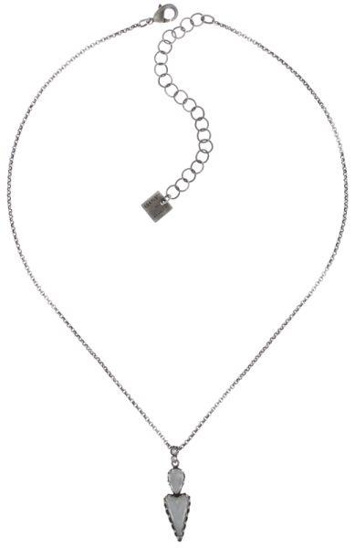 Konplott Snow White Halskette mit Anhänger in in weiß Größe S #5450543755885