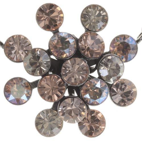 Konplott Magic Fireball Halskette mit Anhänger orange/ kristall #5450543682808