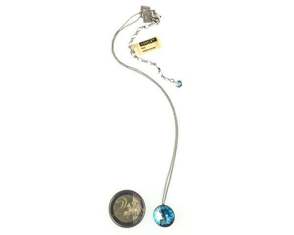Konplott Rivoli aquamarine Halskette mit Anhänger #5450527612883