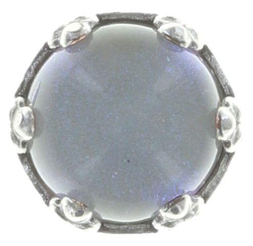 Konplott Jelly Star Ohrstecker klein in hellem weiß, blau shimmer #5450543719818