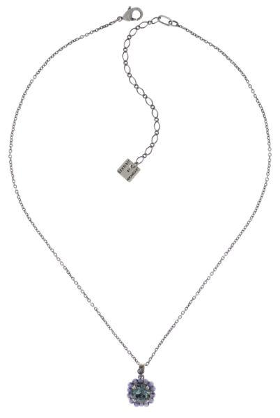 Konplott Kaleidoscope Illusion Halskette mit Anhänger in grau Größe S #5450543771380