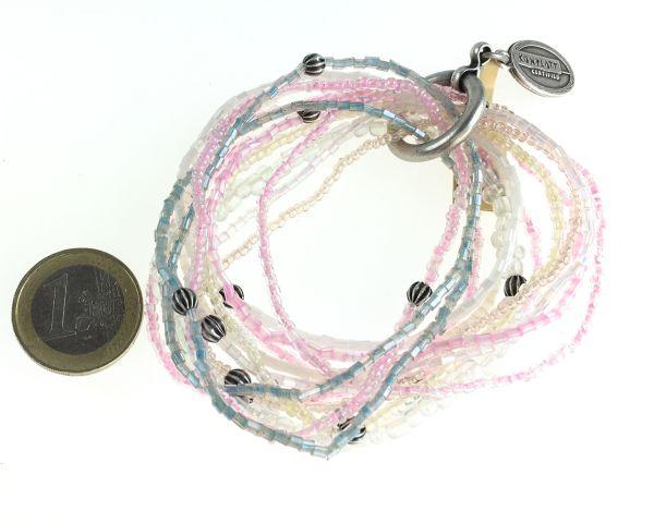 Konplott Petit Glamour d´ Afrique rosa Armband elastisch #5450543640013