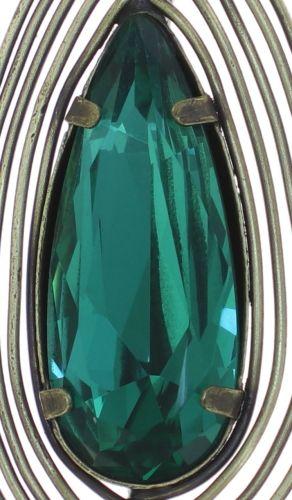 Konplott Amazonia lange Halskette mit Anhänger in blau/grün, Größe M #5450543750897
