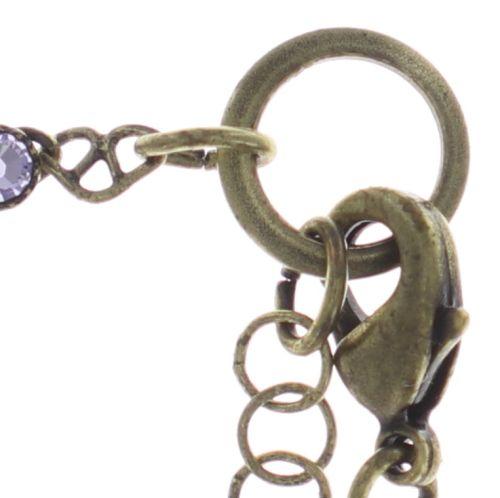 Konplott Festival Anklet Fußkette lila Messing #5450543747439