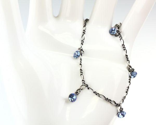 Konplott Tutui light sapphire Armband verschließbar #5450527274388