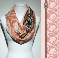 Konplott Schal Floral 2 in rosa