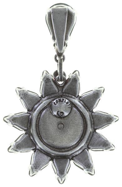 Konplott Sunflower Ohrclip hängend in weiß Größe L #5450543740706