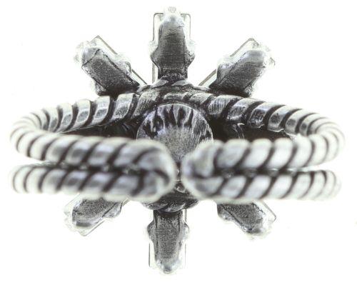 Konplott Spider Daisy Ring in pastel multi Größe S #5450543736617