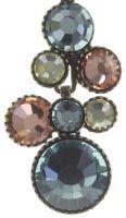 Water Cascade Halskette mit Anhänger in pastel multi