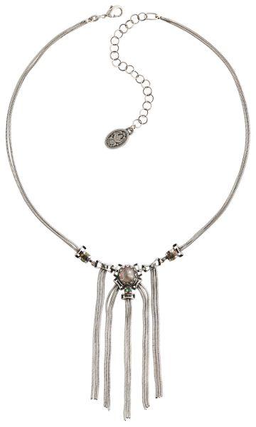 Konplott Dracula Bride Halskette Y-Form hellblau Größe S #5450543674834