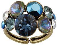 Konplott Petit Glamour Ring in dunkelblau
