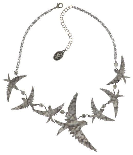 Konplott The Sparrow Halskette Größe L,M in silber #5450543749648