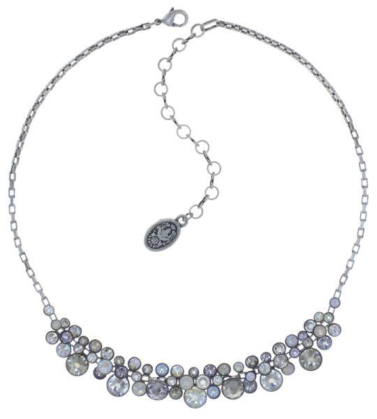 Konplott Water Cascade steinbesetzte Halskette in weiß #5450543753768