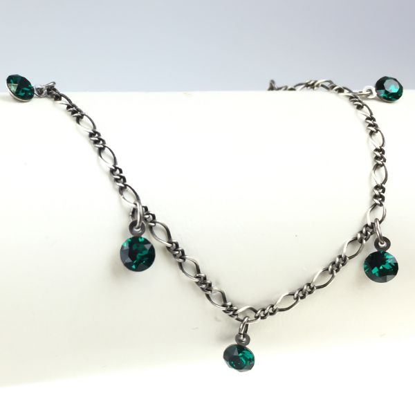 Konplott Tutui emerald Armband verschließbar, dunkelgrün #5450527641180