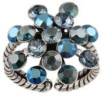 Konplott Magic Fireball Ring in blau