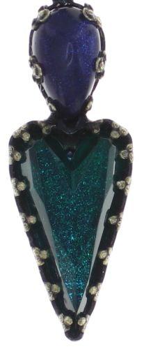 Konplott Snow White Halskette mit Anhänger in blau/grün Größe S #5450543757964