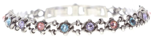 Konplott Spider Daisy Armband in pastel multi #5450543736563