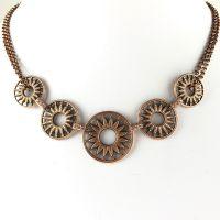 Konplott Rosone rosa Halskette steinbesetzt #5450543499604