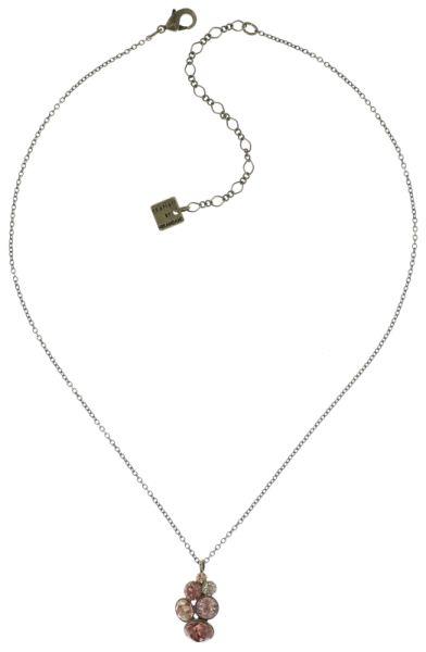 Konplott Petit Glamour Halskette mit Anhänger in beige #5450543682402
