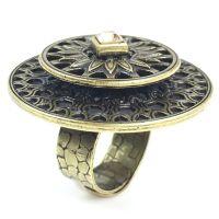 Konplott Rosone gelber Ring #5450543486109