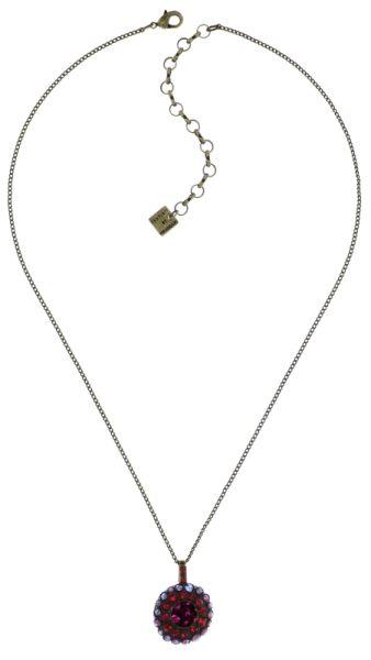 Konplott Inside Out Halskette mit Anhänger Größe S in scarlet rot #5450543675916