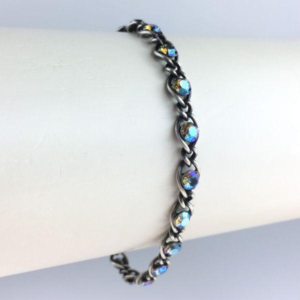 Konplott Magic Fireball grau diamond shimmer Armband verschließbar #5450543631318