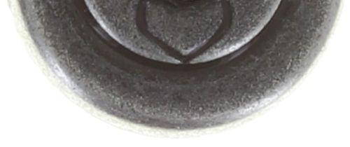 Konplott Black Jack Ohrstecker in grün - crystal tabac #5450527667807