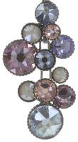 Konplott Water Cascade Halskette mit Anhänger in lila