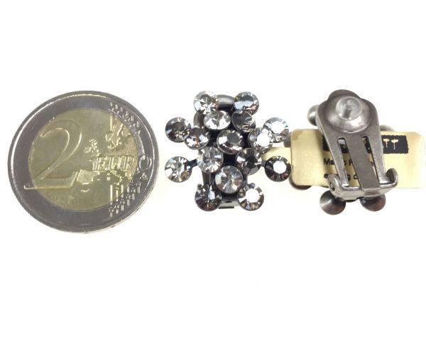 Konplott Magic Fireball Ohrclip in crystal satin/ crystal silver shade #5450527778343