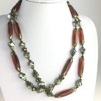 Konplott Pineapple braune Halskette #5450543620572