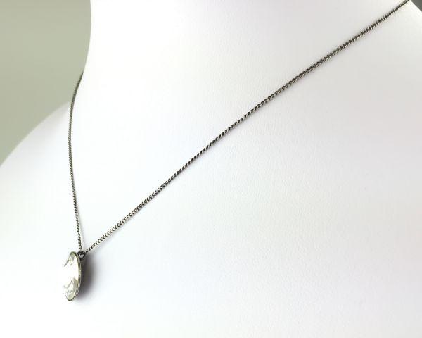 Konplott Rivoli crystal weiße Halskette mit Anhänger #5450527558143