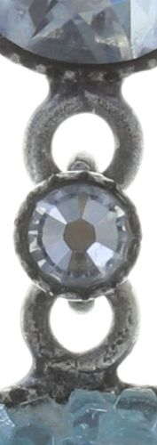 Konplott Studio 54 Ohrring in hellblau Silberfarben Größe M #5450543748405