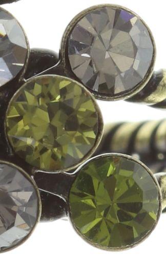 Konplott Magic Fireball Ring grün/ kristall #5450543683096