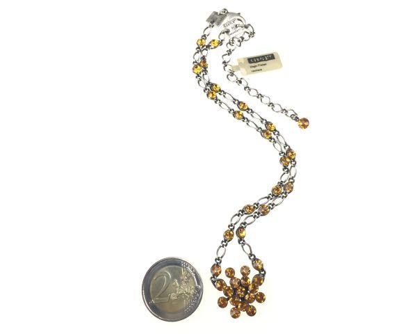 Konplott Magic Fireball Halskette steinbesetzt mit Anhänger in topaz #5450527640510