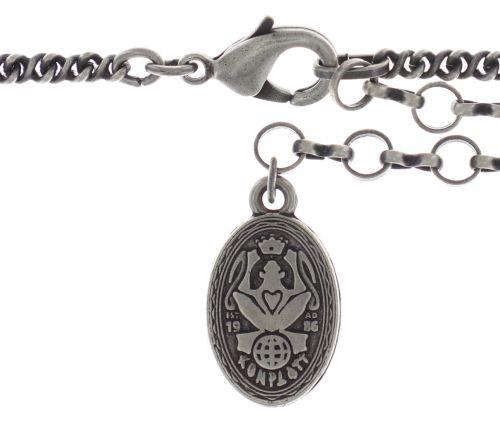 Konplott Beat of the Beads Halskette mit Anhänger in weiß #5450543718477