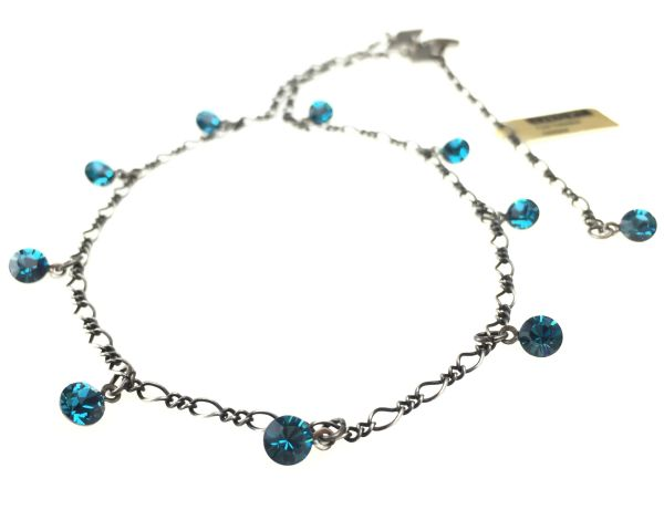 Konplott Tutui indicolite Halskette steinbesetzt, blau #5450527641319